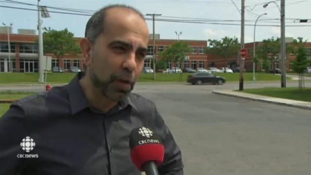 Samer Majzoub, the head of the Canadian Muslim Forum-