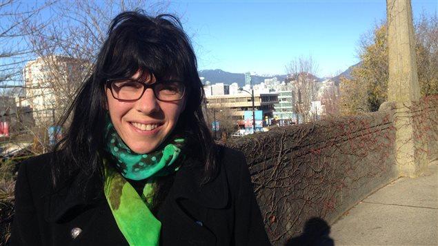 Andrea Reimer, adjointe à la mairie de Vancouver.