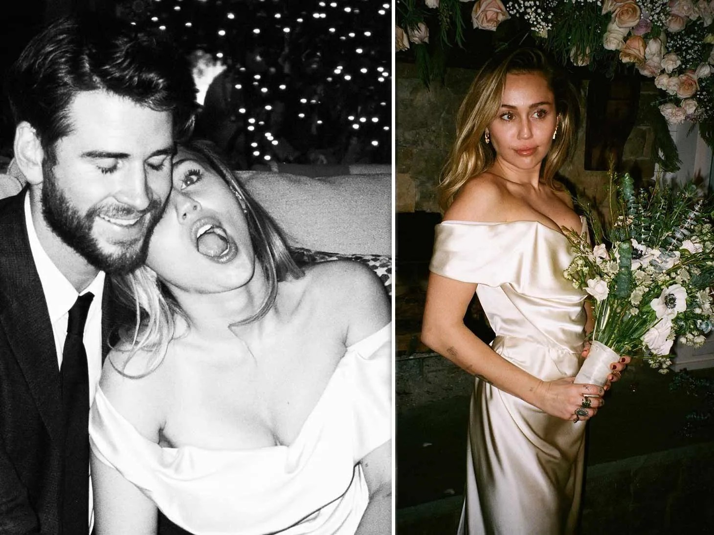 Liam Hemsworth Opens Up About Wedding As Miley Cyrus Shows Never Before Seen Photos From Ceremony