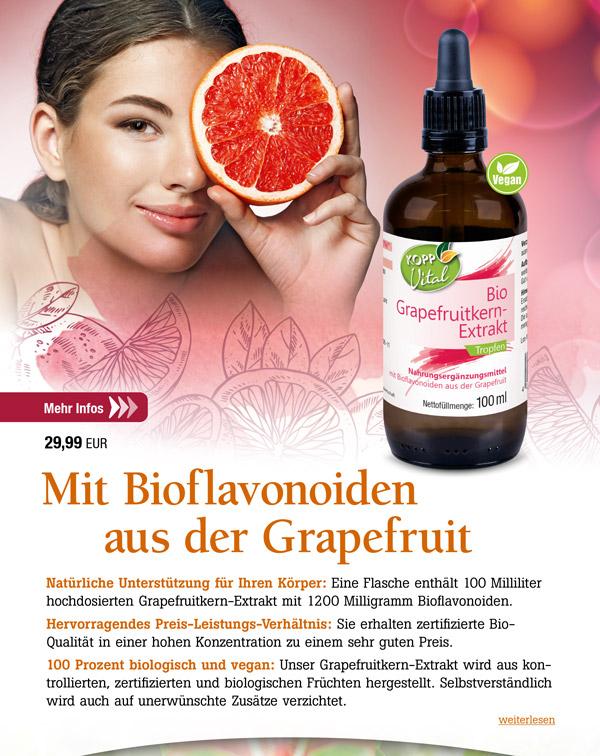 Kopp Vital Bio-Grapefruitkern-Extrakt