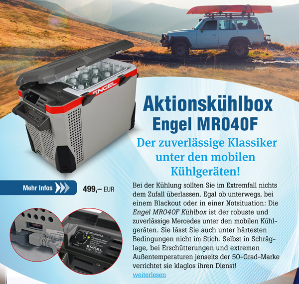 Aktionskühlbox Engel MR040F