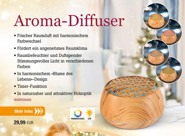 Aroma-Diffuser Multifunktion
