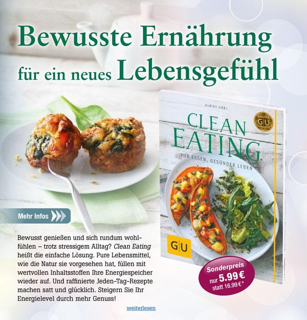 Clean-Eating: Pur essen, gesünder leben
