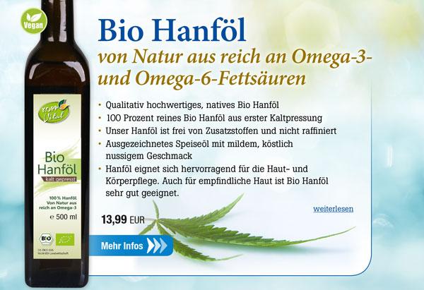 Kopp Vital Bio Hanföl - vegan