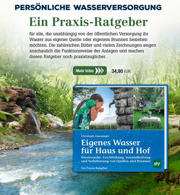 Eigenes Wasser für Haus und Hof