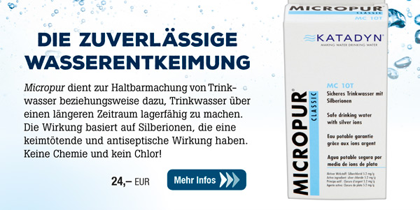 Micropur Classic Tabletten 10T