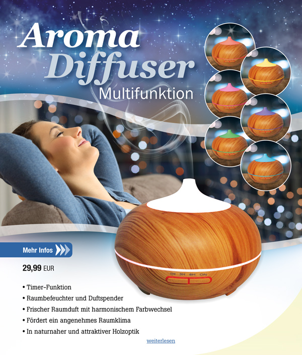 Aroma Diffuser Multifunktion