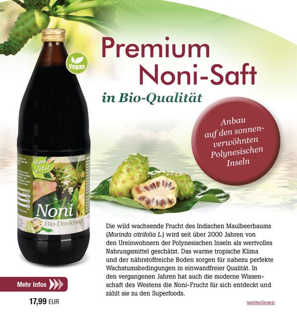 Kopp Vital Bio Noni-Saft 1Liter