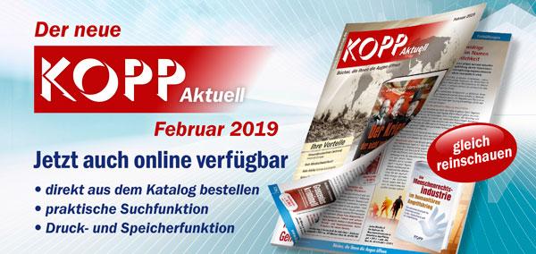Der neue Kopp Aktuell Februar 2019
