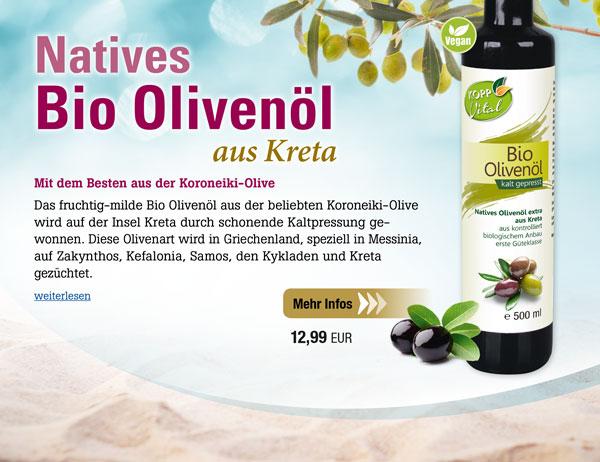 Kopp Vital Bio-Olivenöl -vegan