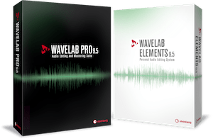 WaveLab Pro 9.5 & WaveLab Elements 9.5
