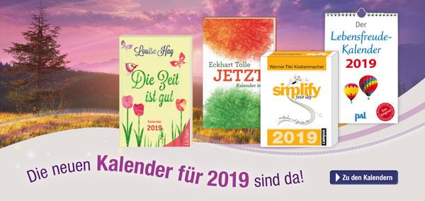 Die neuen Kalender für 2019 sind da!