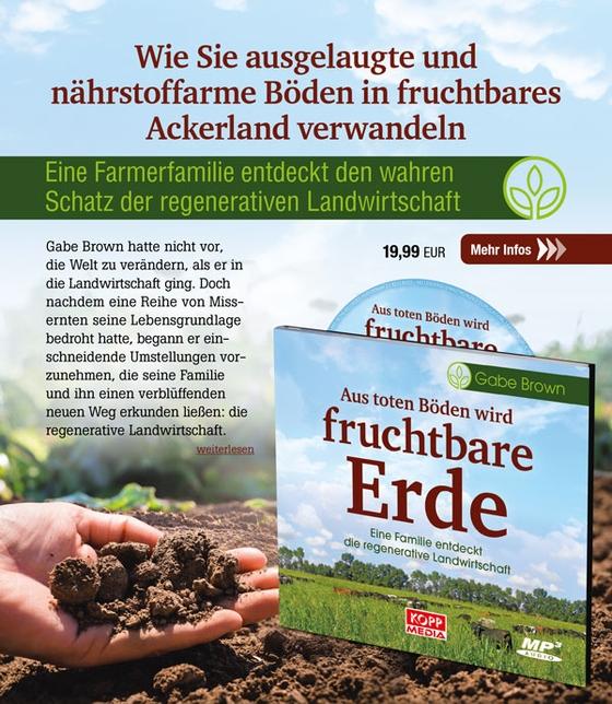 Aus toten Böden wird fruchtbare Erde - Hörbuch