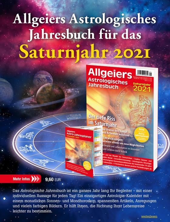 Allgeiers Astrologisches Jahresbuch 2021