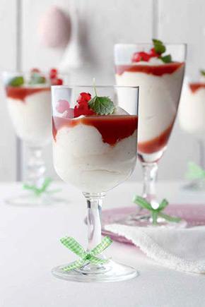 Dessert Quarkmousse