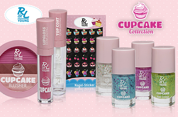 "RdeL Young Limited Edition ""Cupcake Collection"""