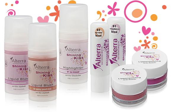 "Alterra ""Shining Kiss"" LE Produkte"
