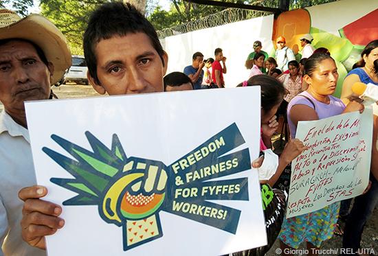 Plantagen-Arbeiter/innen treten für ihre Rechte ein. Unterstützen wir sie dabei!