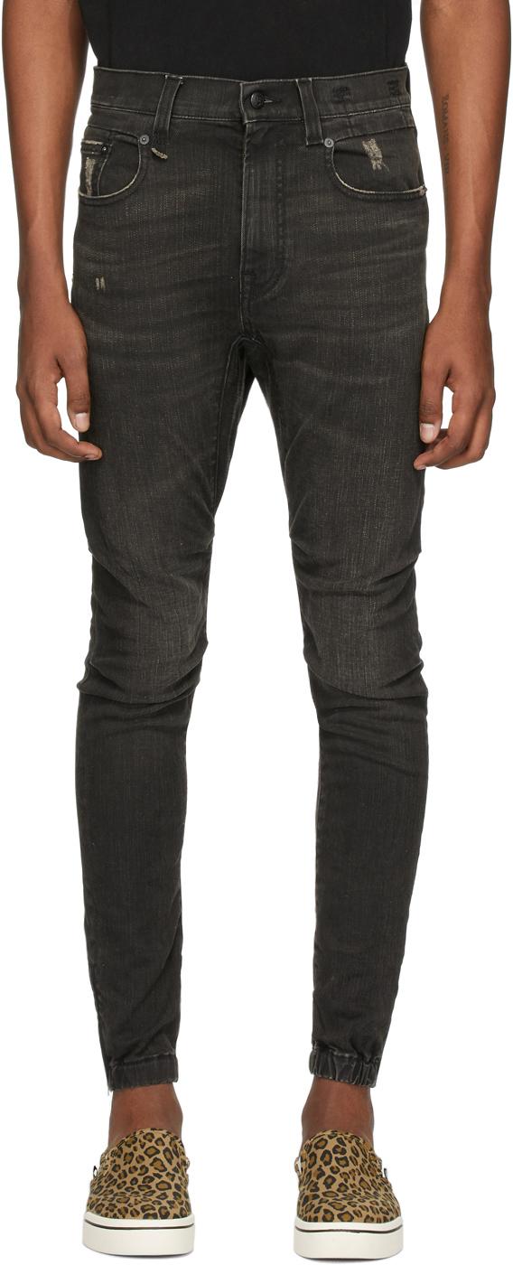 R13 Black Cooper Jeans