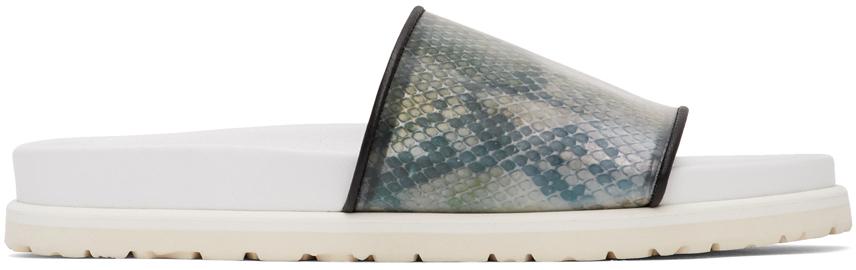 Doublet Beige Invisible Lenticular Sandals