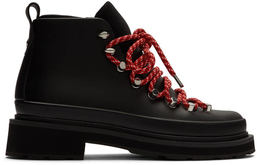 rag & bone Black Compass Rain Boots