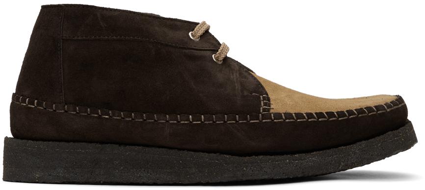 Comme des Garçons Homme Deux Brown Padmore & Barnes Edition Willow Boots