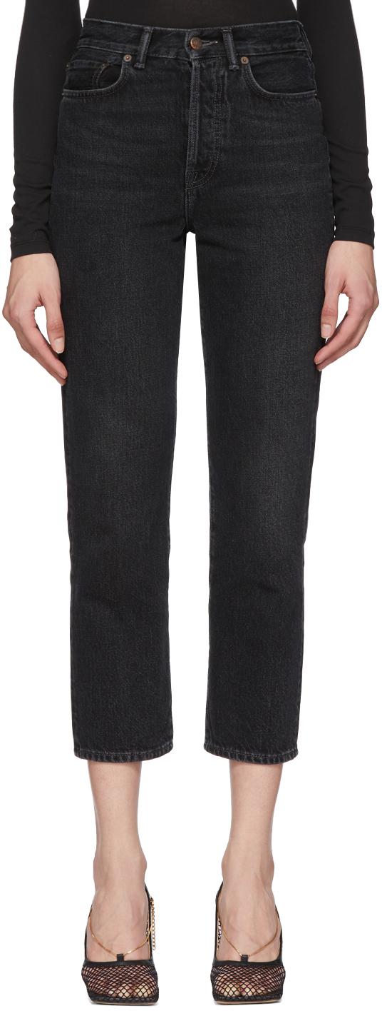 Acne Studios Black Blå Konst Mece Jeans