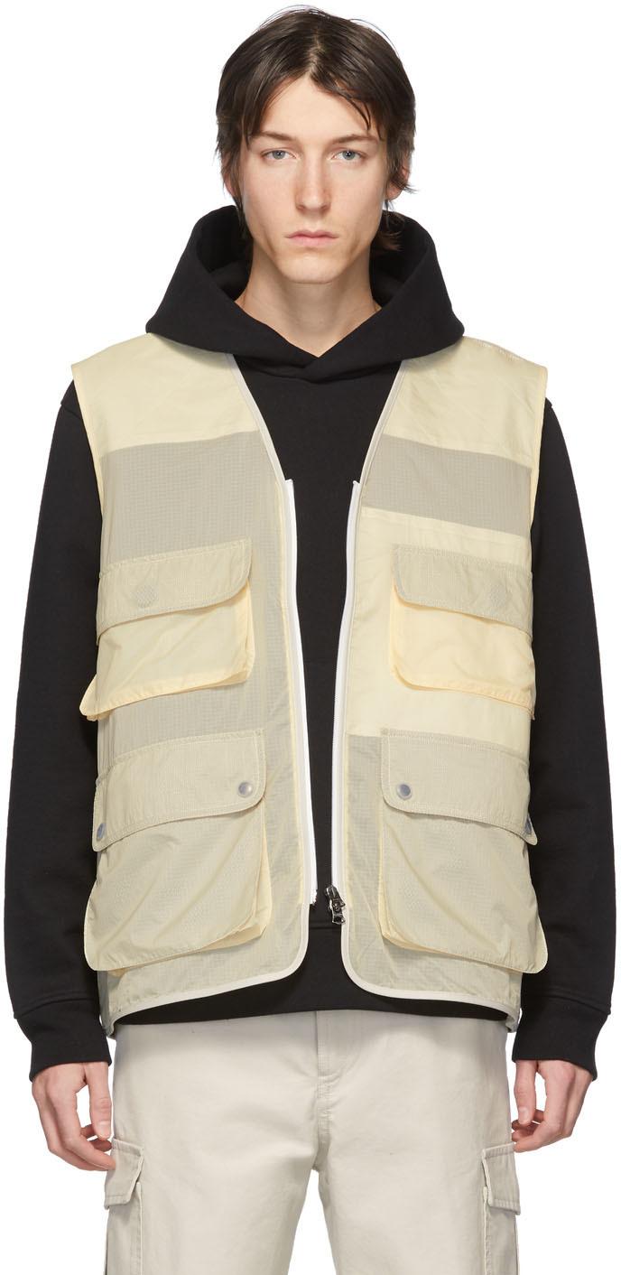 Acne Studios Beige Ripstop Vest