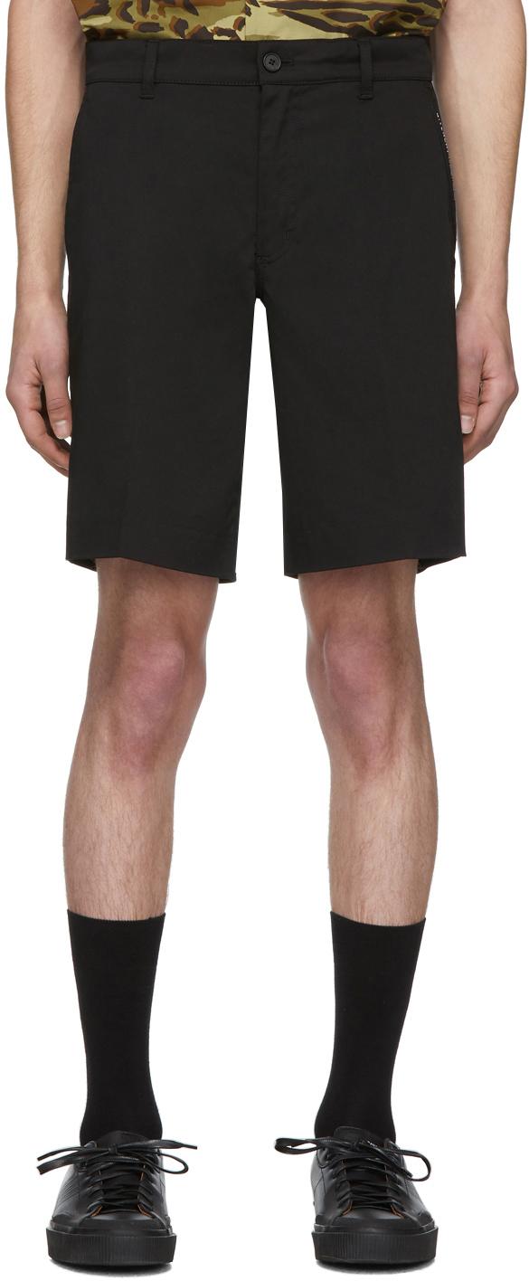 Givenchy Black Classic Stretch Shorts