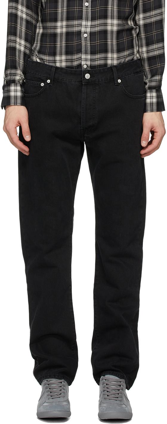 Officine Générale Black Kurt Jeans