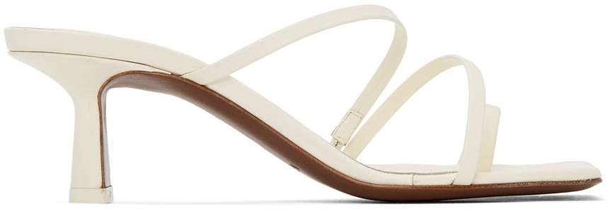 NEOUS Off-White Erandra 55MM Heeled Sandals