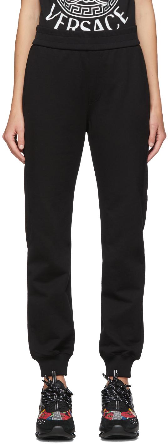 Versace SSENSE Exclusive Black Medusa Laurel Lounge Pants