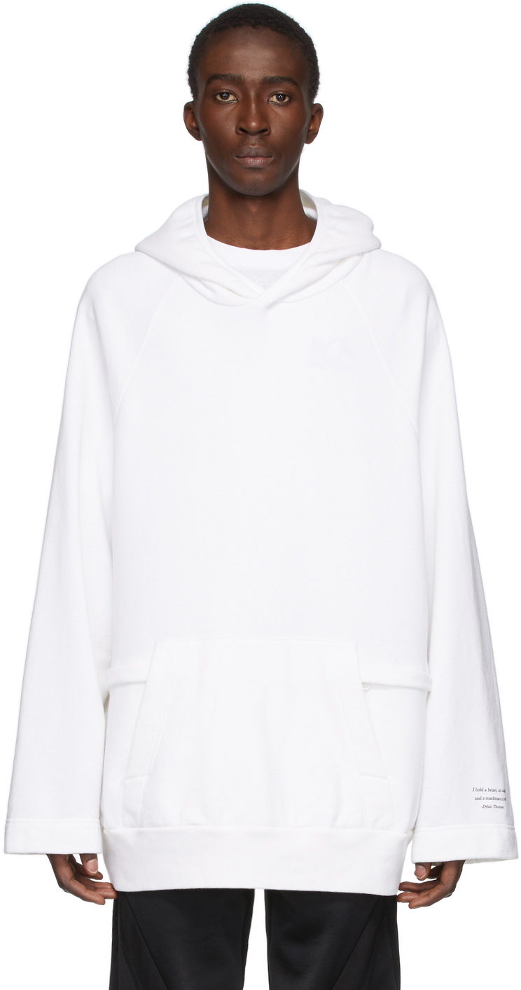 Undercover White Dylan Thomas Hoodie
