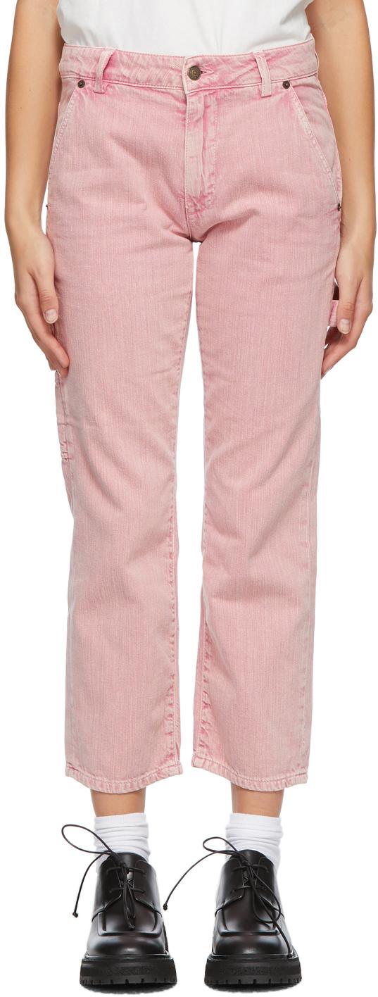 6397 Pink Carpenter Jeans