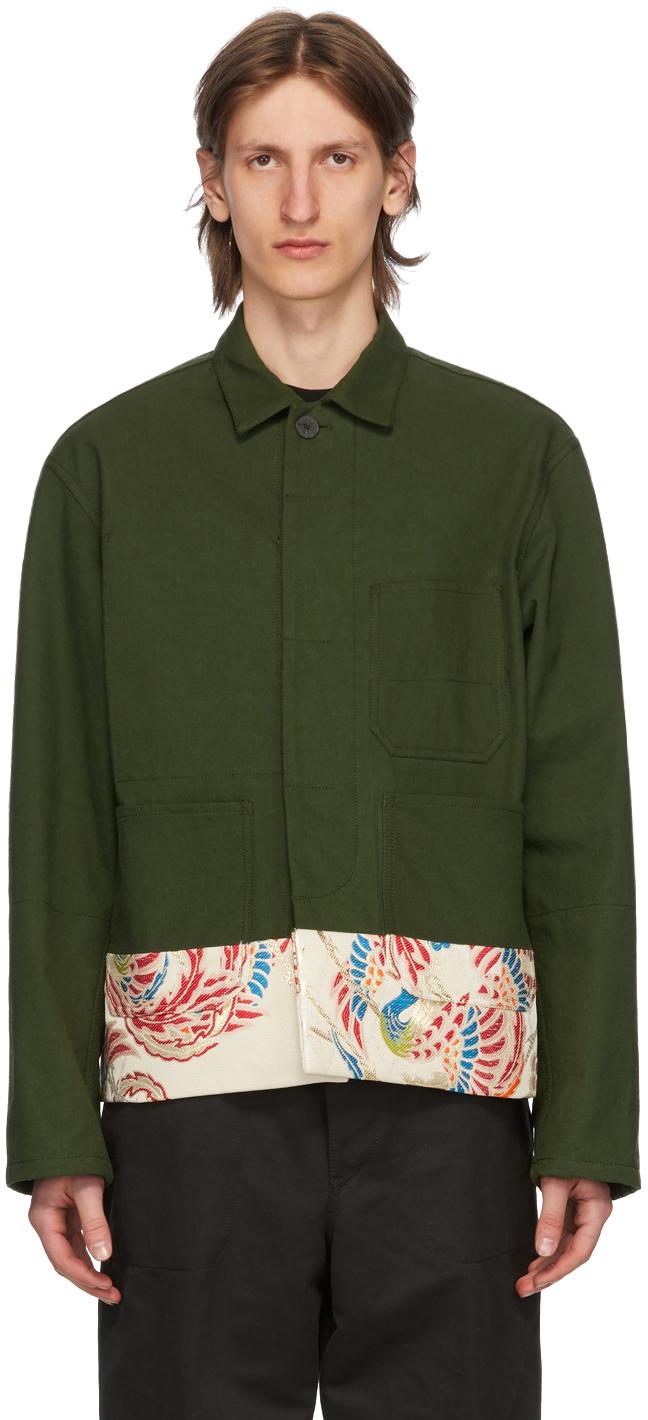 Haider Ackermann Khaki Workwear Jacket