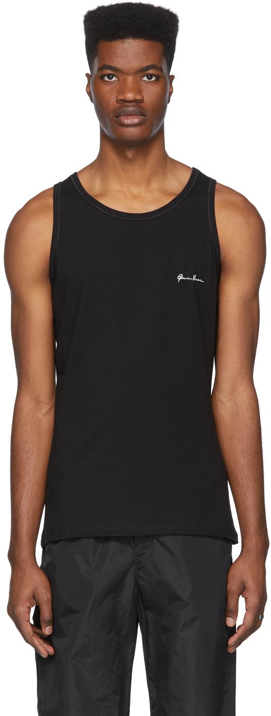 Versace Underwear Black 'Gianni Versace' Tank Top