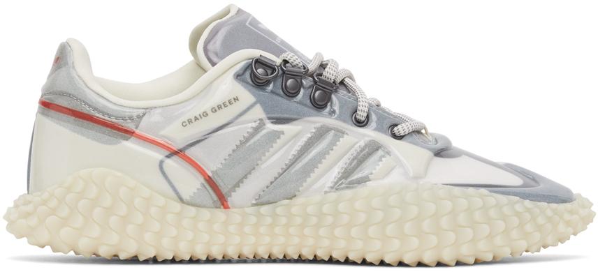 Craig Green White & Grey adidas Edition CG Polta AKH I Sneakers