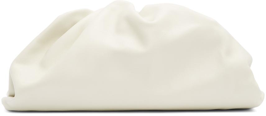 Bottega Veneta Off-White 'The Pouch' Clutch