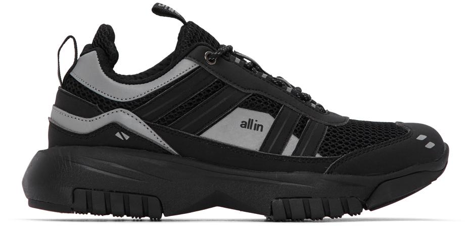 all in Black & Grey W8 Sneakers