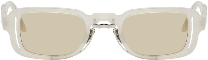 Kuboraum White N12 PL Sunglasses