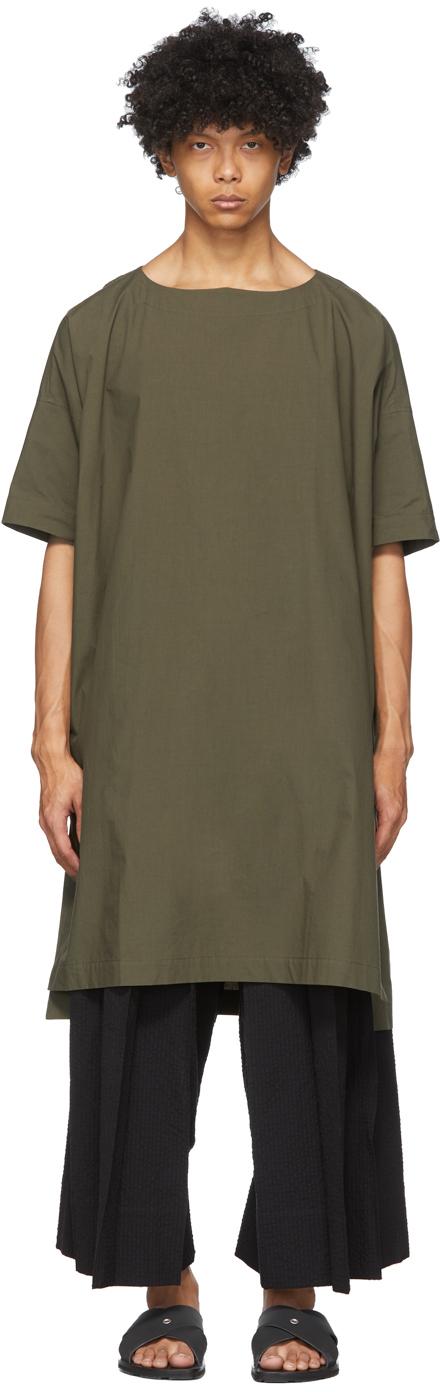 Jan-Jan Van Essche Khaki Tunic 24 T-Shirt