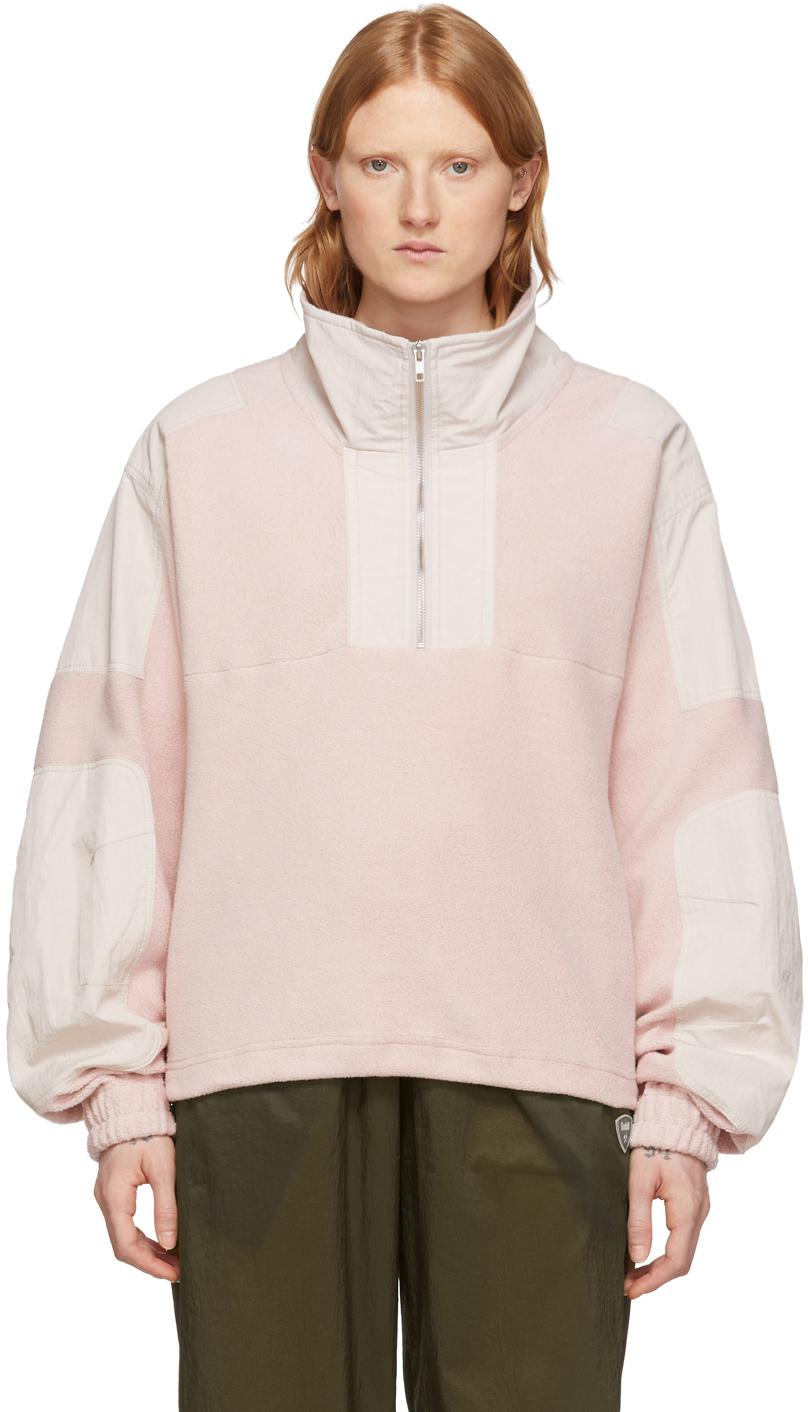 GmbH Pink Fleece Mathise Pullover