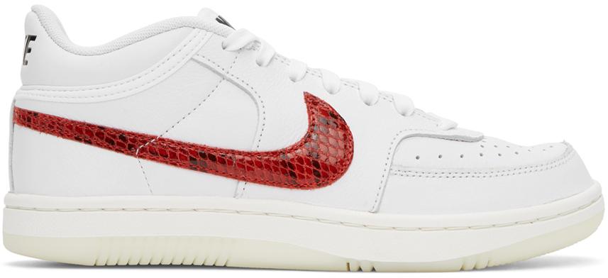 Nike White Sky Force 3/4 Sneakers