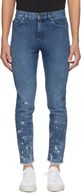 Hugo Blue Slim Tapered Fit Jeans