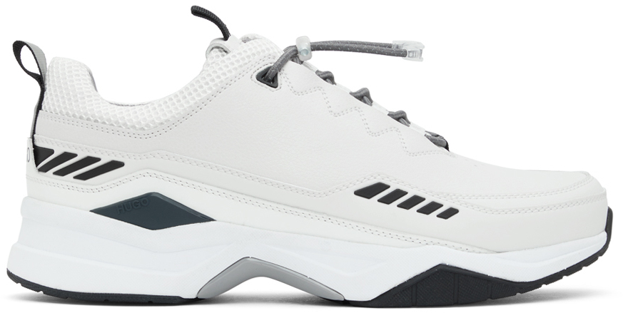 Hugo Off-White Block Running Sneakers