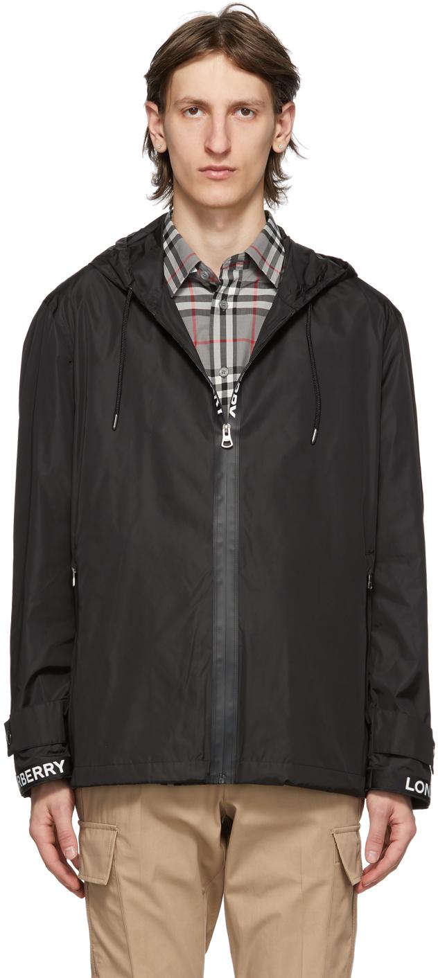 Burberry Black Compton Jacket