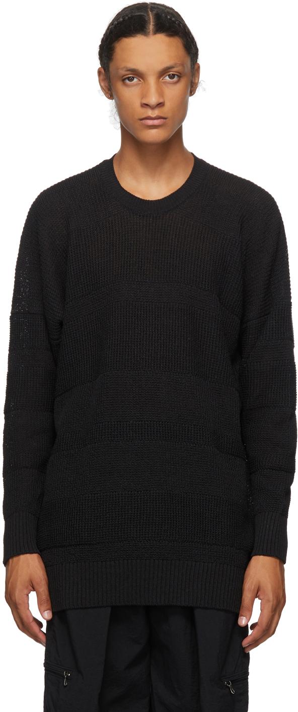 Julius Black Knit Sweater