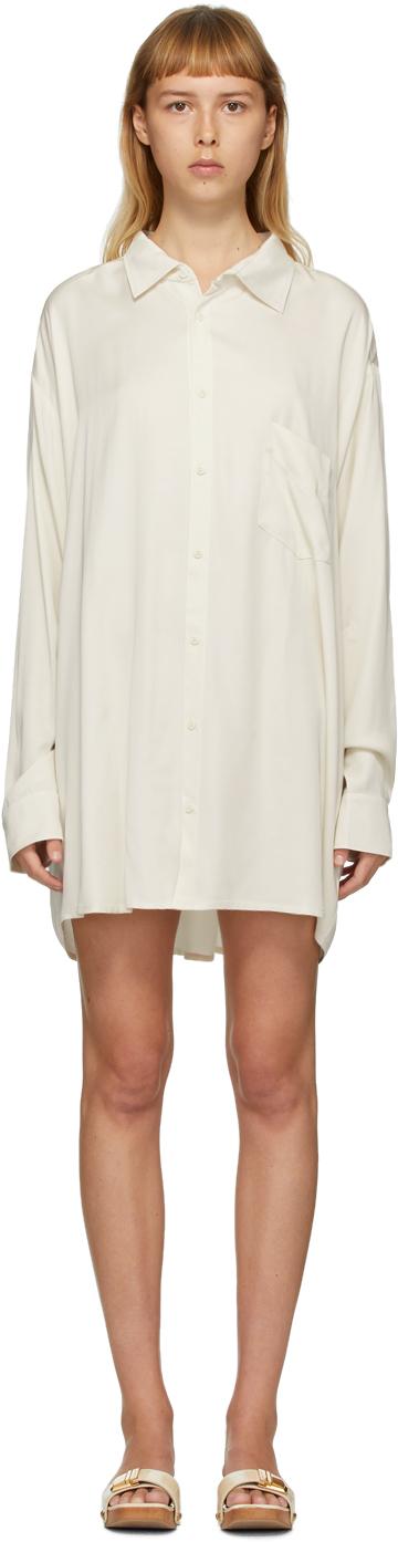 Jacquemus SSENSE Exclusive Off-White 'La Chemise D'Homme' Shirt