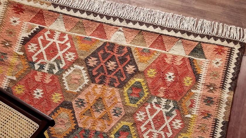 gonderi kiyilmis isvicre zara home tapis berbere