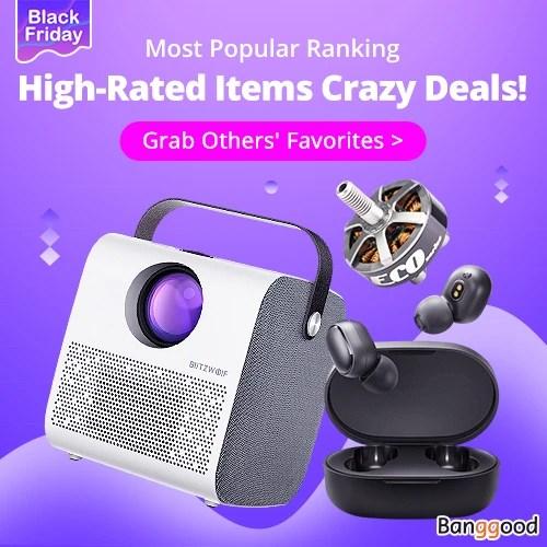 Black Friday Most Popular Ranking